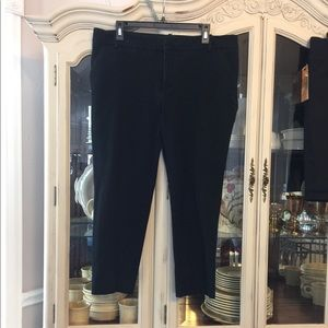 Ava & Viv Black Crop Ankle Pants 16W